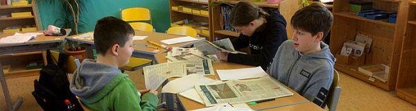 Zeitung in der Schule ZiS