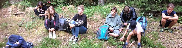 Waldtag der Klee-Klasse
